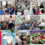 Dobre Przedszkole z Falent na lekcji o historii książki