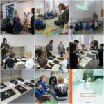Grupa Fioletowa ogląda animację o Rudolfie