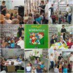 Smyki zwiedzają bibliotekę
