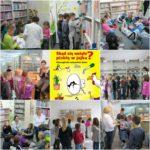 Klasy 1A i 1D zwiedzają bibliotekę