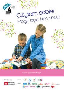 plakat_a2_dzieci czytam sobie