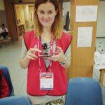 Na stanowisku pracy w kwaterze głównej wolontariuszy w IASE
