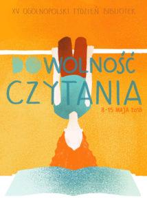 Autorką plakatu jest Weronika Reroń, studentka Wydziału Architektury Politechniki Warszawskiej