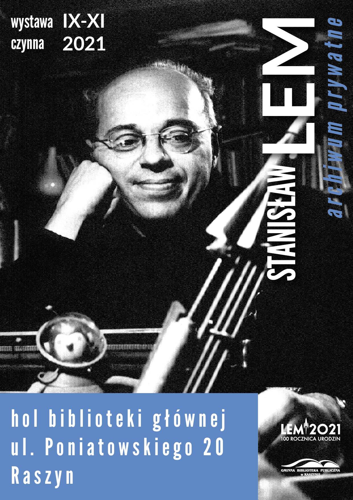 Stanisław Lem - plakat wystawy