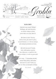 okładka Grobli nr 45 październik 2020