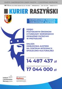 Kurier Raszyński nr 115 okładka