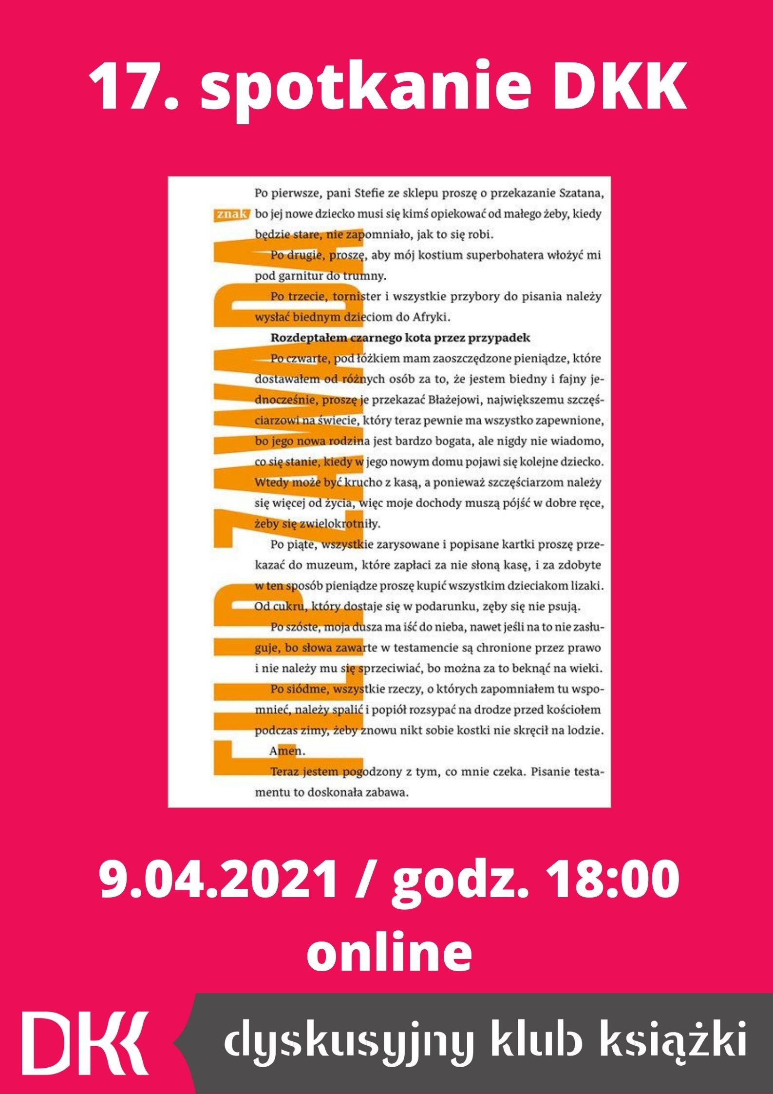 dkk-spotkanie-filip-zawada-plakat