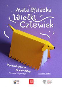 Plakat akcji Mała książka - wielki człowiek